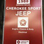 1988 Jeep Cherokee (XJ) Shop Manual