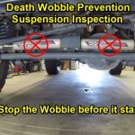 Death Wobble Prevention – A Suspension Inspection