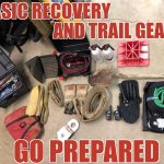Basic Recovery and Trail Gear