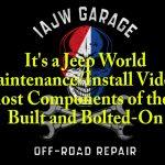 Jeep Build Walk around